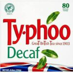 TYPHOO DECAF 80 TEABAGS