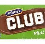 MCVITIES CLUB MINT 8 PACK